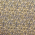 Ember Knit Prints Double Brushed Fabric-Yellow Abstract Cheetah