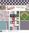 Simple Stories Simple Sets Collection Kit 12\u0022X12\u0022-Baseball