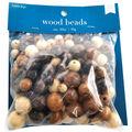 Darice Round Wood Beads-150PK/Multi