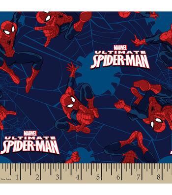 "Marvel Comics Flannel Fabric 42""-Ultimate Spiderman"