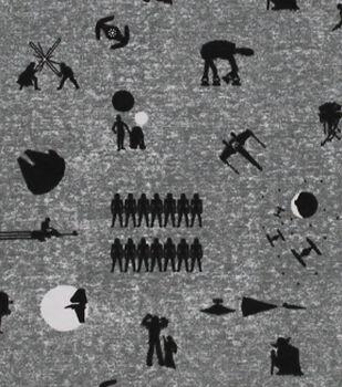 Star Wars Knit Fabric 58''-Character