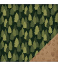 American Crafts Travel Forest Double-Sided Cardstock