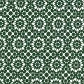 Quilter\u0027s Showcase Cotton Fabric 44\u0022-Green Kaleidescope On White