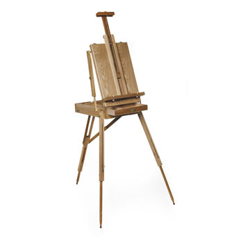Darice French Sketch Box Easel with Palette