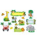 Jungle Safari Bulletin Board Set, 2 Sets