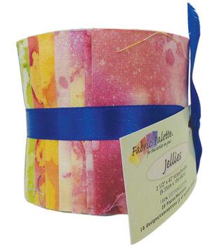 Fabric-Palette Cotton Fabric-Jellies 20/Pkg-Long Road Batik