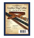 Realeather Crafts- Leather Dog Collar 3/4\u0022