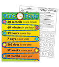 Time Facts Learning Chart 17\u0022x22\u0022 6pk