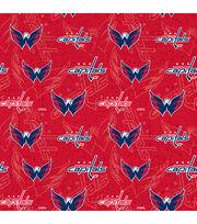 Washington Capitals Cotton Fabric-Tone on Tone, , hi-res