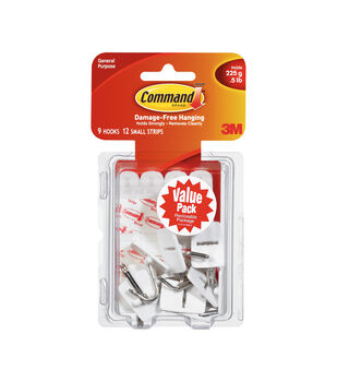 Command Small Wire Hooks Value Pack