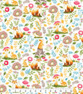 Novelty Cotton Fabric -Watercolor Woodland