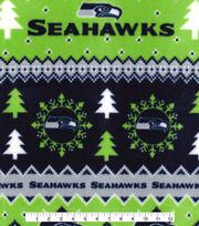 Nfl Seattle Seahawks Fair Isle Flc, , hi-res