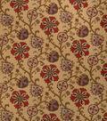 Home Decor 8\u0022x8\u0022 Fabric Swatch-Print Fabric Eaton Square Oprah Elderberry