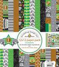 Doodlebug Design Touchdown 12\u0027\u0027x12\u0027\u0027 Double-sided Paper Pack