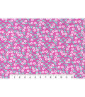 Keepsake Calico Cotton Fabric 43\u0022-Small Floral Pink
