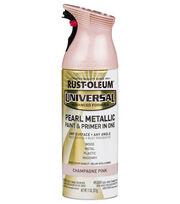 Rust-Oleum Universal Pearl Metallic Paint & Primer-Champagne Pink, , hi-res