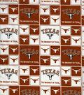 University of Texas Longhorns Cotton Fabric 43\u0027\u0027-Block