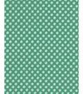 Holiday Showcase Christmas Cotton Fabric 43\u0027\u0027-Ditsy Snowflakes on Green