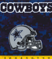 Dallas Cowboys Fleece Fabric -Digital, , hi-res