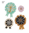 Simplicity Pattern 8443 Misses\u0027 Hair Accessories, Purses & Medallions
