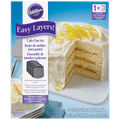 Wilton Easy Layer 4 Pack Cake Pans-Square 6\u0022x6\u0022