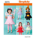 Simplicity Pattern 2073A 1/2-1-2-3--Simplicity Toddlers