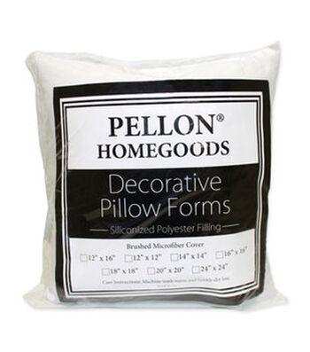 "Pellon Decorative 20"" x 20"" Microfiber Pillow Form"