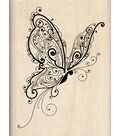 Inkadinkado Rubber Stamp-Butterfly