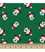 Disney Mickey Mouse Knit Fabric-Santa Toss, , hi-res