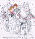 Tobin Wedding Carriage Counted Cross Stitch Kit