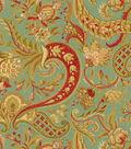 Waverly Print Fabric Swatch-Rhapsody/Vintage