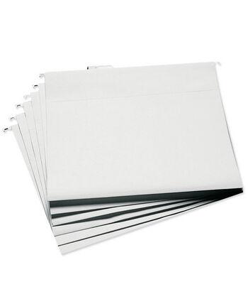 """Cropper Hopper Hanging File Folders 13""""x14"""" 6/pkg-White"""