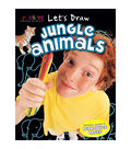 Creative Teaching Materials Let\u0027s Draw Book-Jungle Animals
