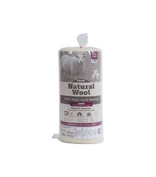 Fairfield Queen Size Natural Wool Quilt Batting