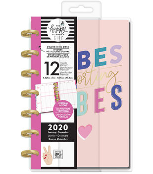 The Happy Planner Girl Deluxe Mini 2020 Dated Planner-Encourager