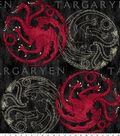 Game of Thrones Fleece Fabric 59\u0022-House Targaryen