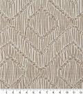 Robert Allen @ Home Upholstery Swatch 56\u0022-Rattan Geo Linen
