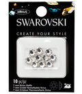 Swarovski Create Your Style 10 pk 7mm Xirius Hotfix Crystals
