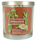 Hudson 43 Candle & Light 14 oz. Sandalwood Premium Scented Jar Candle