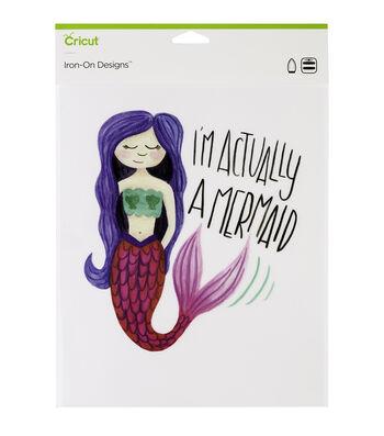 Cricut Large Iron-On Designs-Mermaid