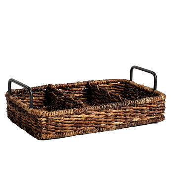 Organizing Essentials Sectioned Tray Basket