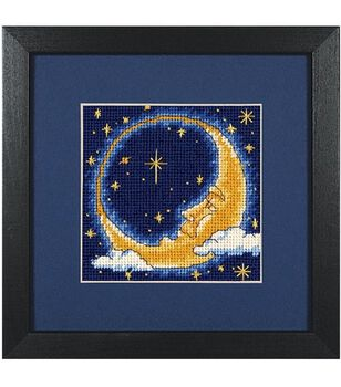 Dimensions Needlepoint Kit Moon Dreamer