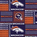 Denver Broncos Cotton Fabric -Patch