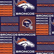 Denver Broncos Cotton Fabric -Patch, , hi-res