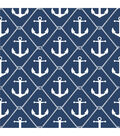 WallPops NuWallpaper Navy Set Sail Peel  & Stick Wallpaper
