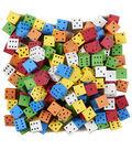 Koplow Games Foam Spot Dice, Assorted Color, 16mm, Bag of 200