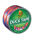 Printed Duck Tape Br& Duct Tape 1.88 in. x 10 yd.-Ikat Tie Dye