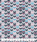 Snuggle Flannel Fabric-Pastel Geo