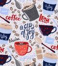 Snuggle Flannel Fabric -Mocha Lattes