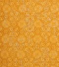 Keepsake Calico Cotton Fabric -Sun Orange Medallion Blender